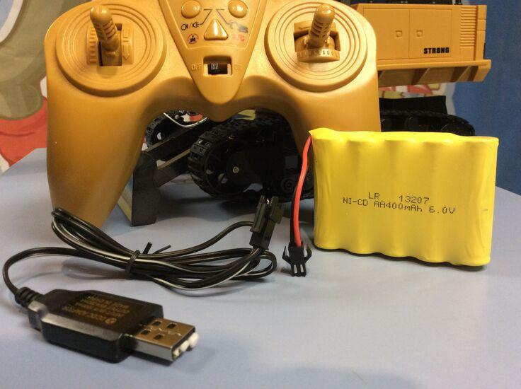 Металлический радиоуправляемый экскаватор Хаина Huina 1510 2.4G 1:16