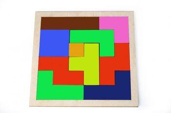 Набор деревянный Lemmo Игра Квадрат - 00-20