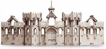 Конструктор из дерева Lemmo Большой рыцарский замок