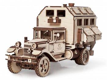 Конструктор 3D деревянный Lemmo ГАЗ-АА Кунг