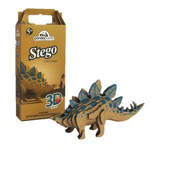 3D-ПАЗЛ Стегозавр. Возраст: 5+