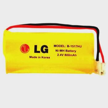 Аккумулятор NiMH AAA 2,4V 800 mAh LG 1517 HU Flatpack UNI Plug