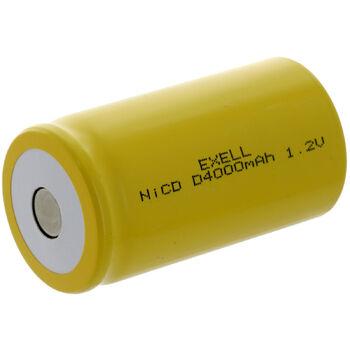 Аккумулятор Ni-Cd D 1.2v 4000mah Flat Top (1 шт)