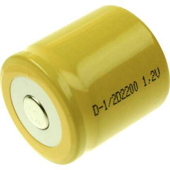 Аккумулятор Ni-Cd 1/2 D 1.2v 2200mah Button Top (1 шт)