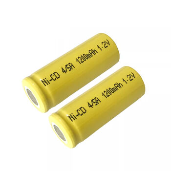 Аккумулятор NiCd 4/5А 1.2V 1200mAh Flat Top (1шт)
