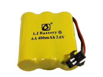 Аккумулятор Ni-Cd 3.6v 400mah форма Flatpack разъем YP