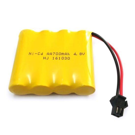 Аккумулятор AAPower hitech AA Ni-Cd AA 4.8v 700mah форма Flatpack разъем YP