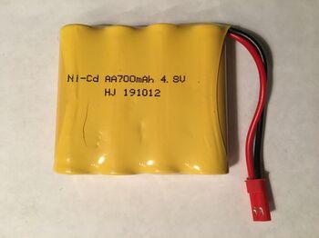 Аккумулятор Ni-Cd AA 4.8v 700mah форма Flatpack разъем JST
