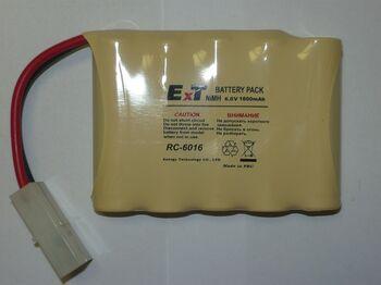 Аккумулятор NICD 6V 1600mAh ExT RC 6016 FlatPack Tamiya