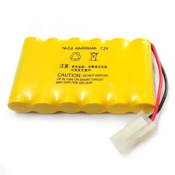 Аккумулятор Ni-Cd 7.2v 400mah форма Flatpack разъем 5559-2P