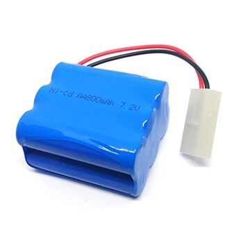 Аккумулятор Ni-Cd 7.2v 800mah форма Row разъем Tamiya