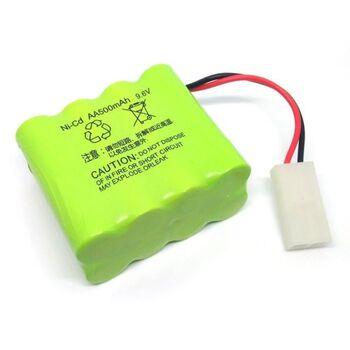 Аккумулятор Ni-Cd 9.6v 500mah форма Row разъем Tamiya