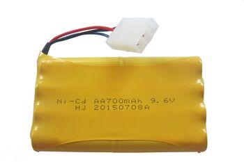 Аккумулятор Ni-Cd 9.6v 700mah форма Column-Row разъем Tamiya3