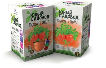 Набор для экспериментов Юный садовод  Вырасти томат