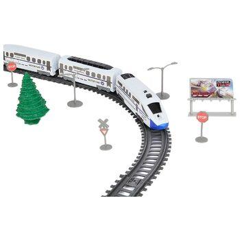 Железная дорога Экспресс (скоростной поезд, разводной мост, длина 914 см) - BSQ-2181