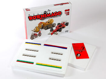 Магнитный конструктор Bornimago серия PRO ML-66P (66 дет.)