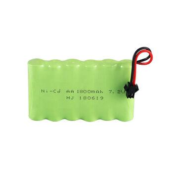 Аккумулятор Ni-Cd AA 7.2v 1800mah форма Flatpack разъем YP