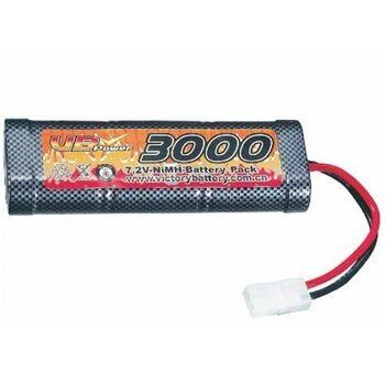 Аккумулятор VB-Power NiMh 7.2V 6S 3000 mAh - VB-6XSC3000mAh