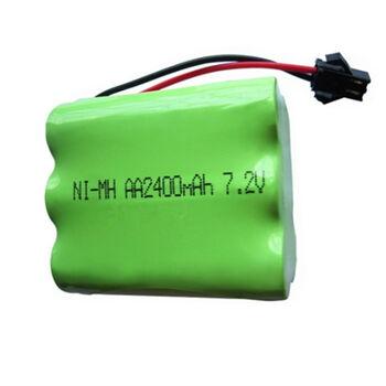 Аккумулятор Ni-Mh 7.2v 2400mah форма Row разъем YP