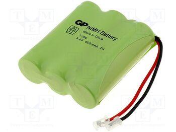 Аккумулятор NiMh 3.6V 600 mAh GP T-160 Flatpack UNI Plug