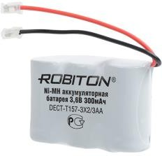 Аккумулятор NiMH 3.6V 300 mAh ROBITON T-157 Flatpack UNI Plug