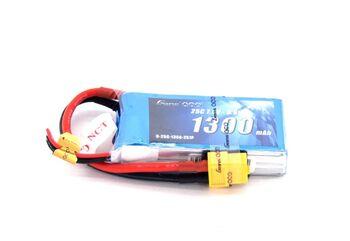 Аккумулятор Li-Po - 7.4В 1300мАч 25C (2S1P) XT60