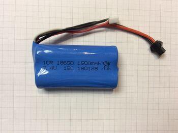 Аккумулятор 18650 Li-Ion 7.4v 1500mah ICR разъем YP