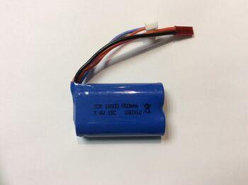 Аккумулятор Li-Ion 16500 7.4v 850mah ICR разъем JST