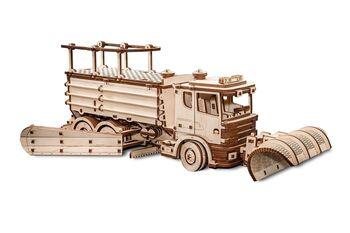 Конструктор деревянный 3D EWA Снегоуборочная машина