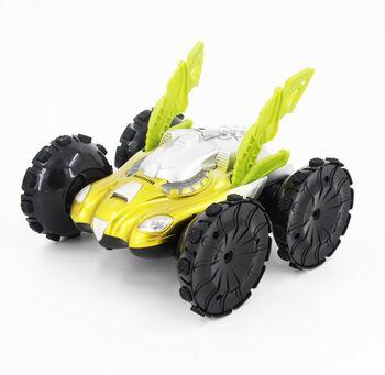 Радиоуправляемая машина амфибия перевертыш YED Yellow Aqua Stunt 1:12 43 см.