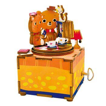 Деревянный 3D конструктор - музыкальная шкатулка Robotime Love Story - AM310