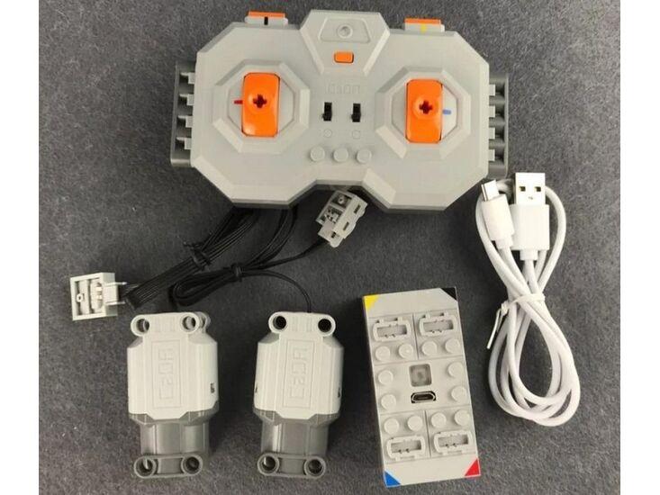 Радиоуправляемый конструктор CADA deTech гусенечный экскаватор (544 детали)