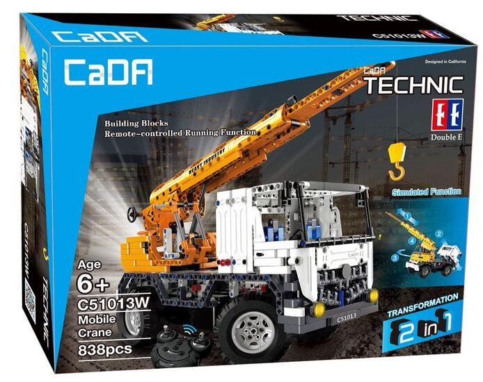 Радиоуправляемый конструктор CaDA TECHNIC C51013W  автокран со стрелой / эвакуатор 2.4G