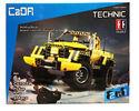 Радиоуправляемый конструктор CaDA TECHNIC C51003W Джип  2.4G