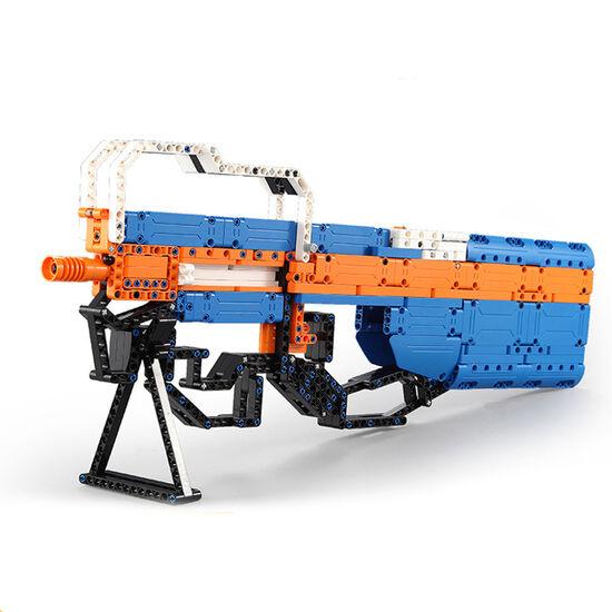 Конструктор Double E Cada Technics, пистолет-пулемет P90, 581 деталь - C81003W