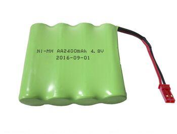 Аккумулятор Ni-Mh AA 4.8v 2400mah форма Flatpack разъем JST