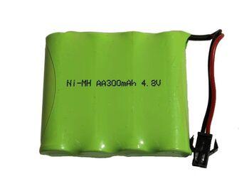 Аккумулятор Ni-Mh AA 4.8v 300mah форма Flatpack разъем YP