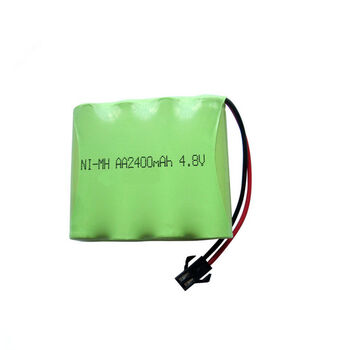 Аккумулятор Ni-Mh 4.8v 2400mah форма Flatpack разъем YP