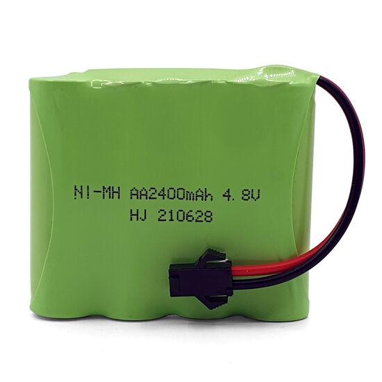 Аккумулятор AAPower.Tech AA Ni-Mh 4.8v 2400mah форма Flatpack разъем YP