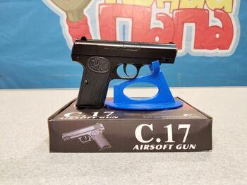 Детский пистолет металлический Браунинг  C.17 калибр 6мм