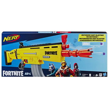 Нерф Фортнайт Скар / Nerf Fortnite AR-L Dart Blaster