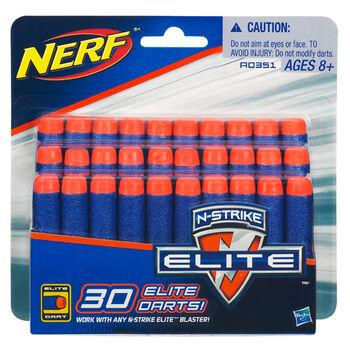 Комплект стрел для бластеров Nerf серии N-Strike Elite 0351148A (30 шт.)