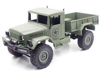 Радиоуправляемая машина Heng Long военный грузовик (зеленый) 1/16+акб 2.4G RTR