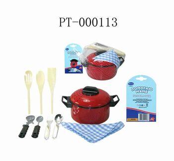 Набор посуды для кухни Помогаю Маме, 10 предметов