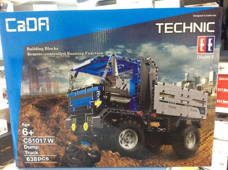 Радиоуправляемый конструктор CaDA TECHNIC C51017W Грузовик 2.4G