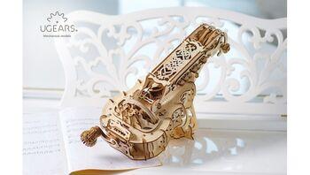 3D-пазл механический UGears - Харди-Гарди струнный инструмент