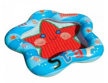 Бассейн надувной для малышей Звездочка, 1-3 года, 102х99х13см