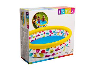 Бассейн надувной детский Cool Dots Pool, 147х33 см (от 2-х лет)