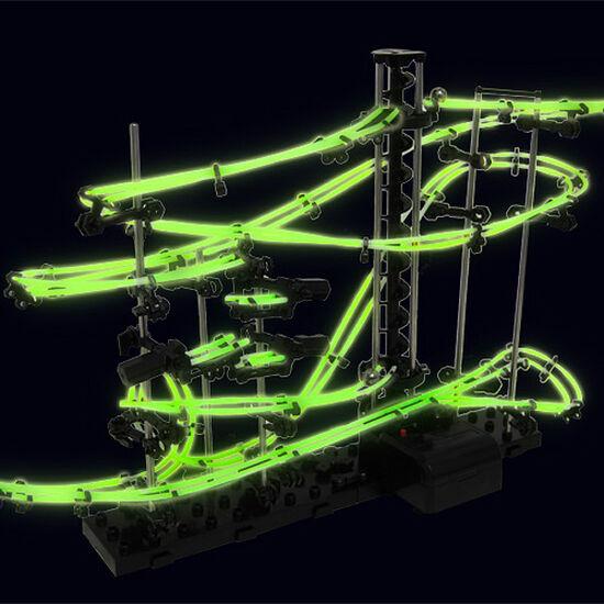 Конструктор SpaceRail серия GLOW - 2 уровень светящиеся рельсы!