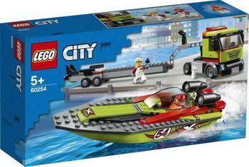 Конструктор LEGO CITY Great Vehicles Транспортировщик скоростных катеров